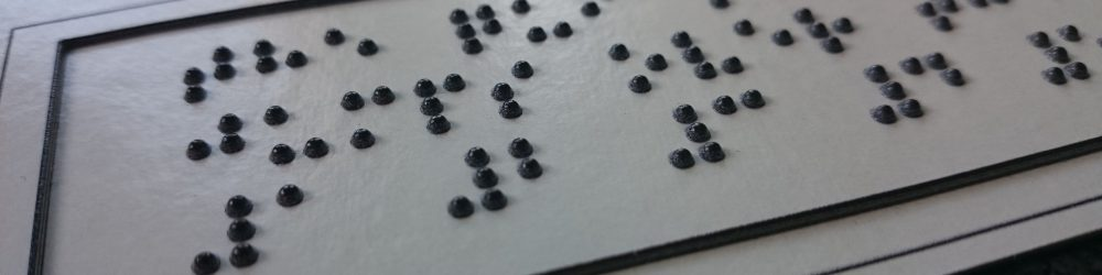 Top kwaliteit braille producten & graphics